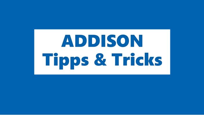 ADDISON Tipps und Trick - Rechnungsabrezungsposten ARAP PRAP